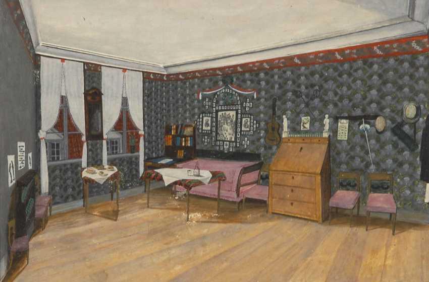 Biedermeier Interior. - photo 1