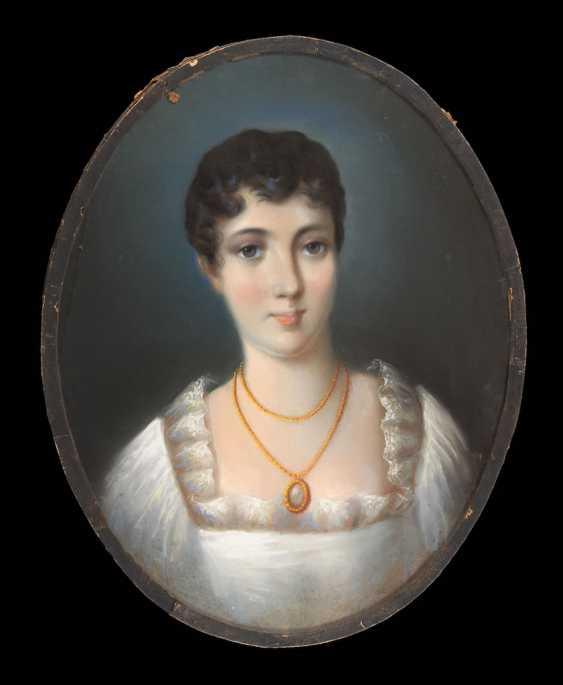 Portrait painter around 1800: portrait of a woman. - photo 1