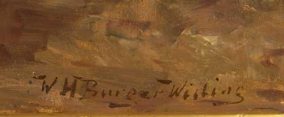 BURGER-WILLING, Willi Hans: Zeitunglese - photo 3
