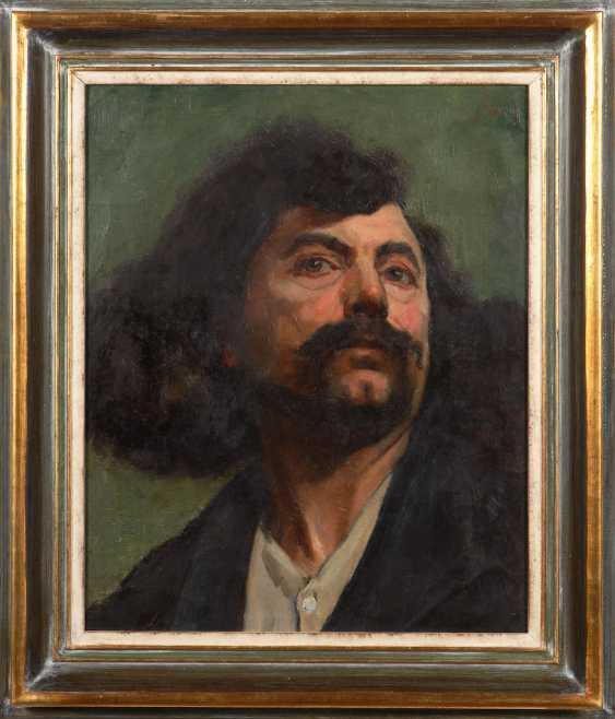 BURKHARDT, Hedwig: men portrait. - photo 2