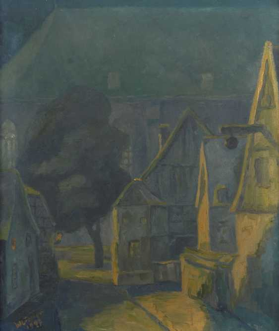 CREMER, W.: Nocturnal city scene. - photo 1