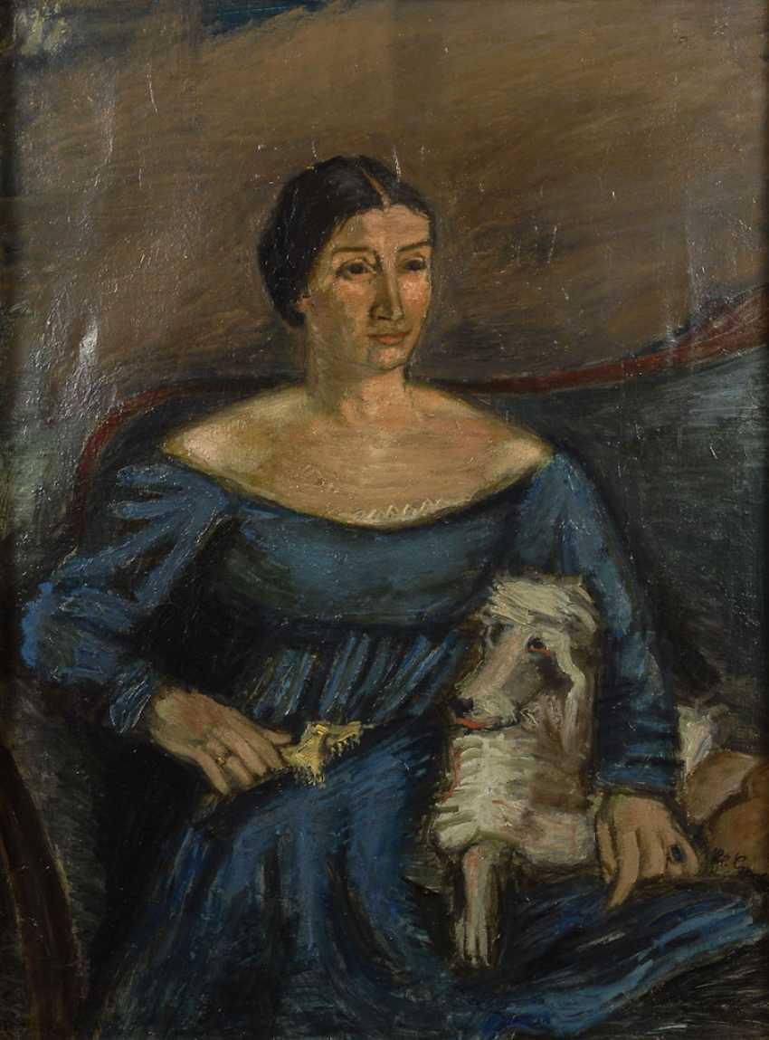CRODEL, Charles: portrait of Annemarie Dahl - photo 1