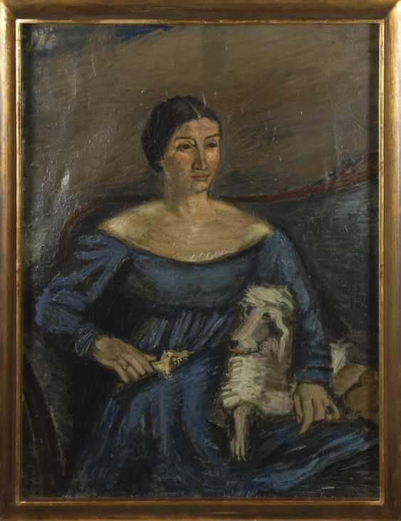 CRODEL, Charles: portrait of Annemarie Dahl - photo 3