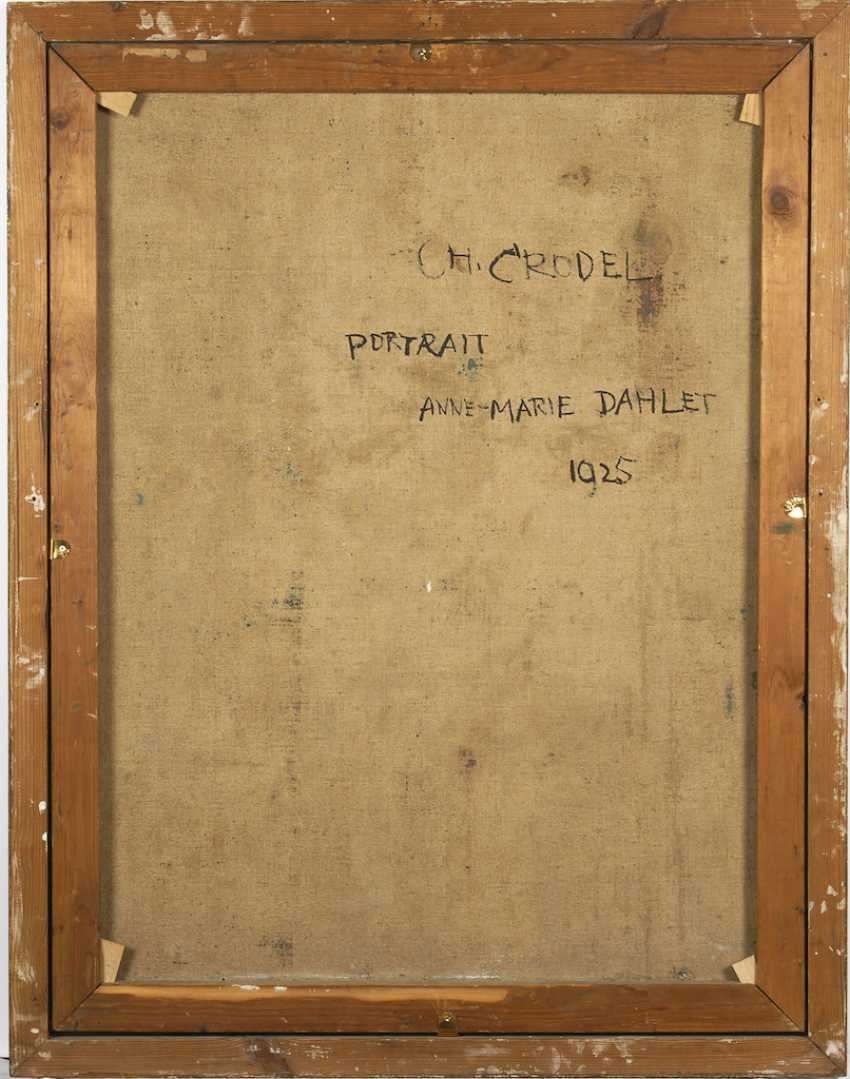 CRODEL, Charles: portrait of Annemarie Dahl - photo 6