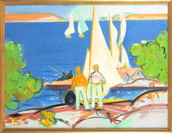 Danish Painters: Modern Coastal Scene. - photo 1
