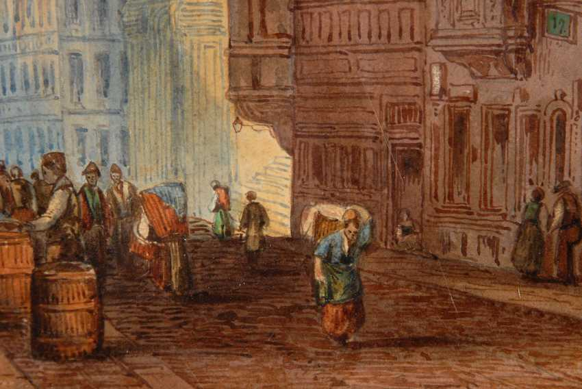"""DELAMOTTE, William Alfred: """"A Street in - photo 2"""