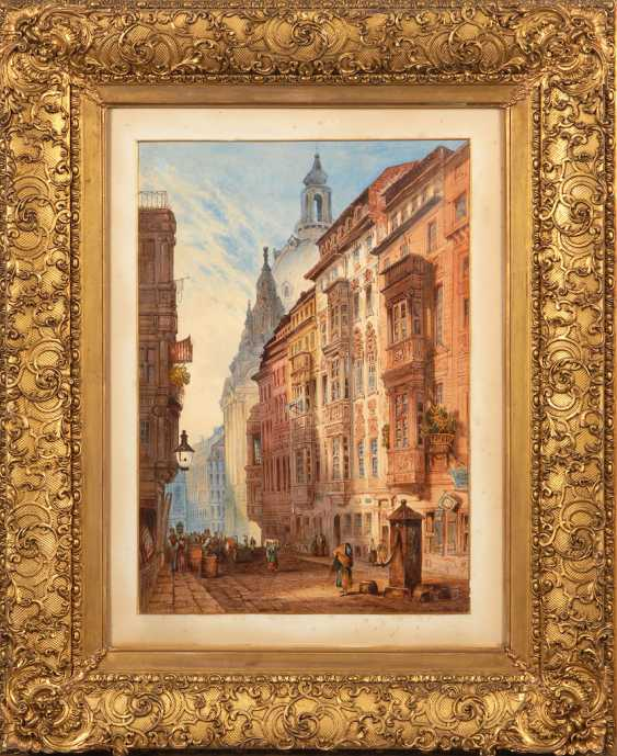 """DELAMOTTE, William Alfred: """"A Street in - photo 3"""