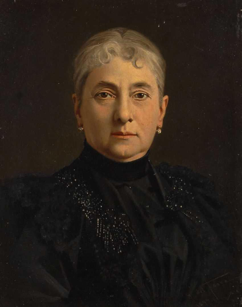 DEL TORRE, Giulio: woman portrait. - photo 1
