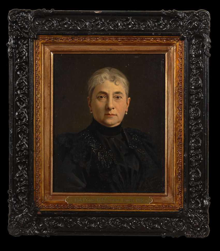 DEL TORRE, Giulio: woman portrait. - photo 2