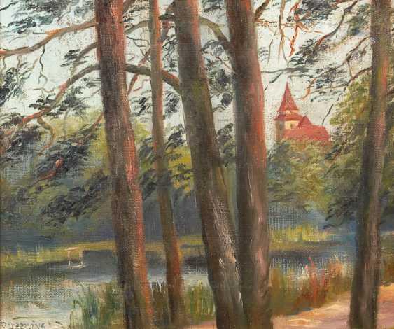 DREWING, Peter Paul (Draewing): Am Wald - photo 1
