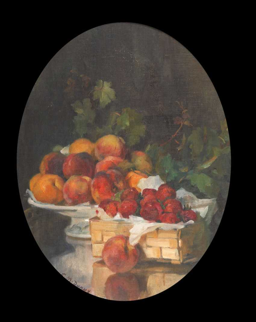 DUPUY, Paul-Michel: still life with fruits. - photo 1
