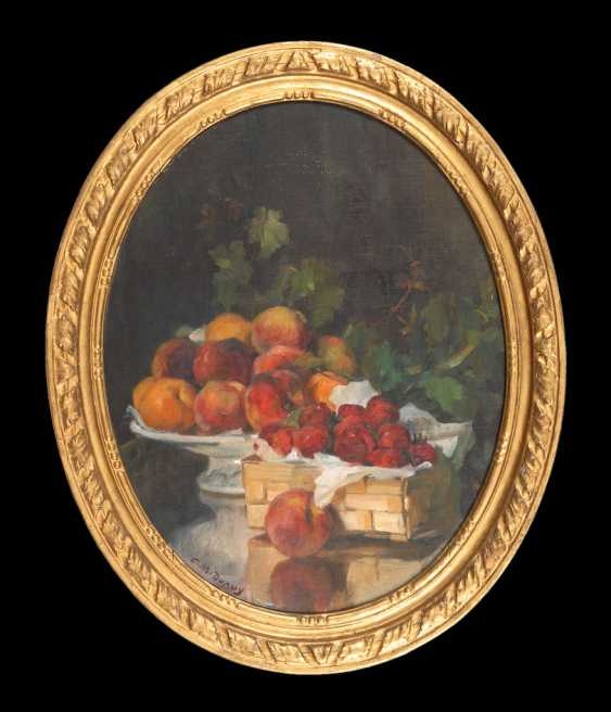 DUPUY, Paul-Michel: still life with fruits. - photo 2