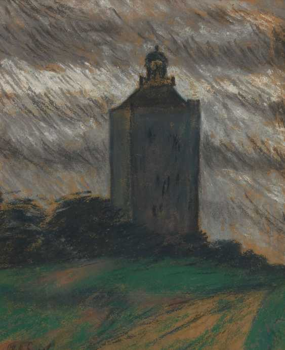 ENGEL, Otto Heinrich: the lighthouse on the Ne - photo 1