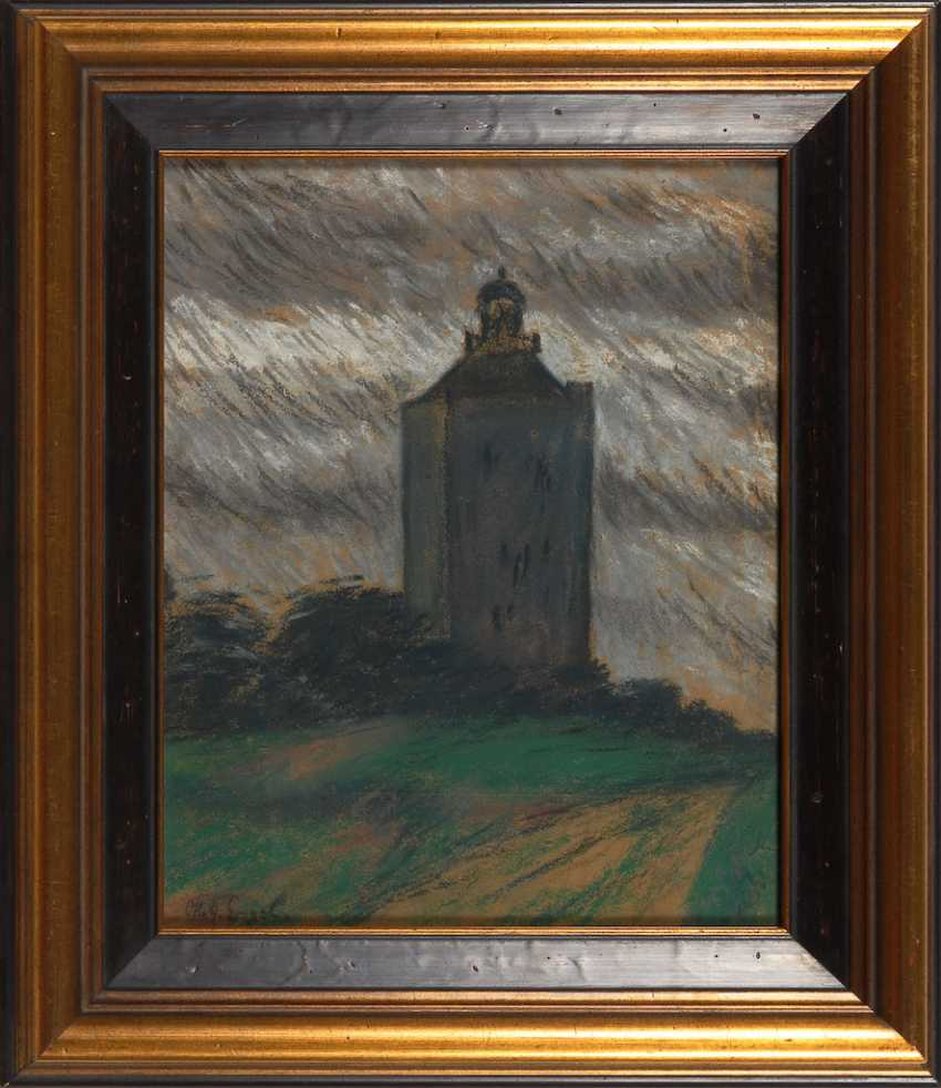 ENGEL, Otto Heinrich: the lighthouse on the Ne - photo 2