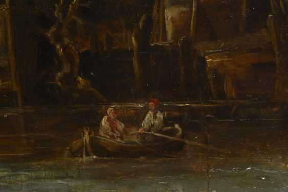 English Harbor Scene, 18. Century - photo 4