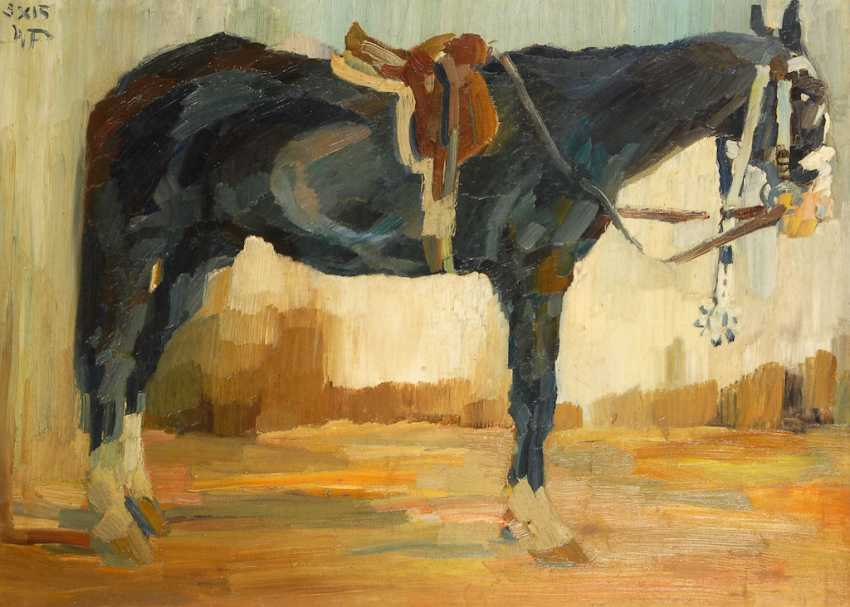 Field BAUER, Max: horse portrait. - photo 1