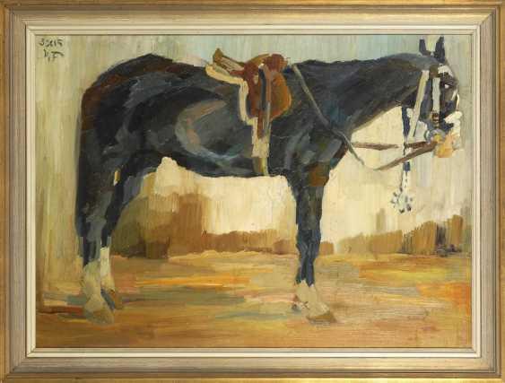 Field BAUER, Max: horse portrait. - photo 3
