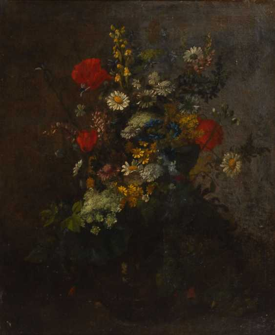 French Painter: Bouquet Of Flowers. - photo 1