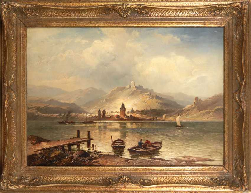 FRIESEN, Ludwig: river landscape with St - photo 2