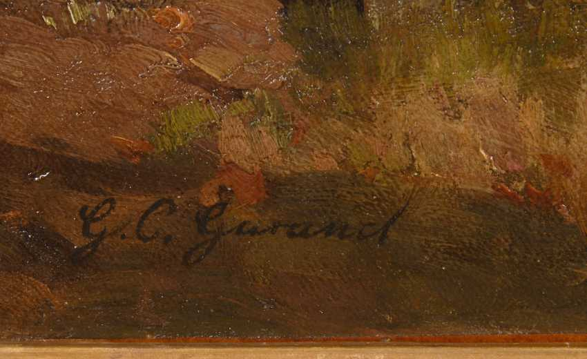GARAUD, Gustave Cesaire: farmer with oxen - photo 3