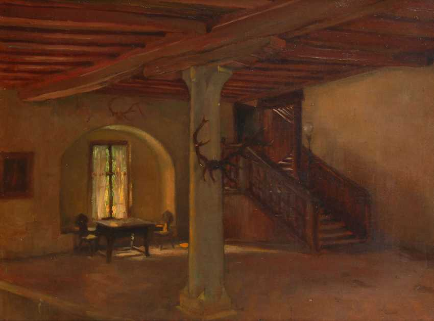 GEERKE, Otto: entrance hall in Lord street - photo 1