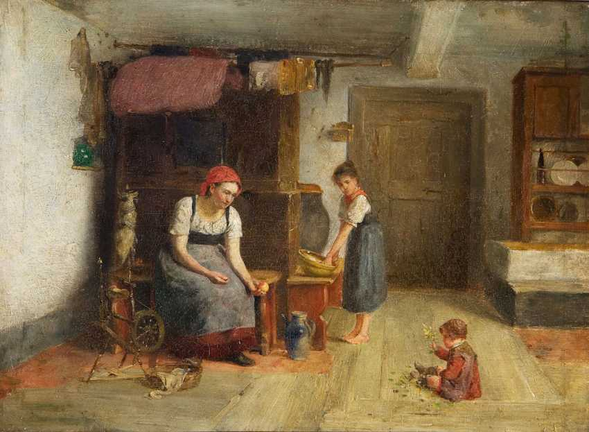 Genre painter 19. Century: - photo 1