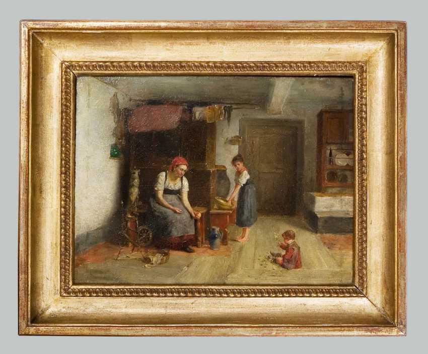 Genre painter 19. Century: - photo 2