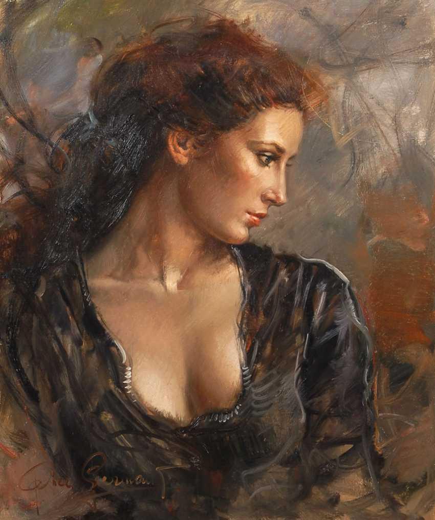 GERMANI, Pier: woman portrait. - photo 1