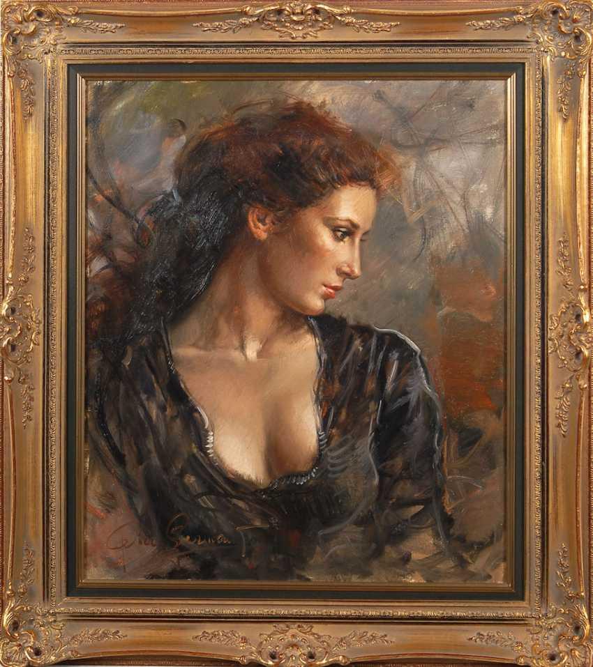 GERMANI, Pier: woman portrait. - photo 2