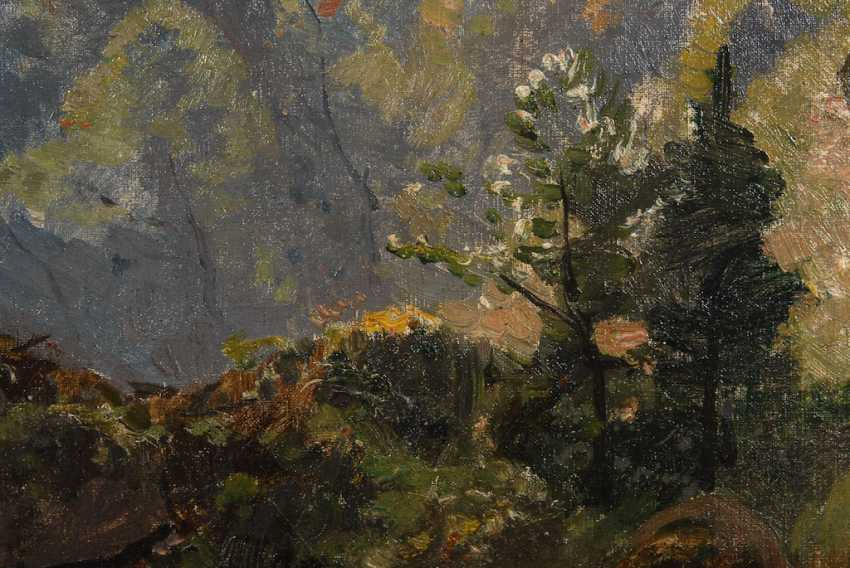 "HAGEN, Theodor: ""forest stream"". - photo 2"