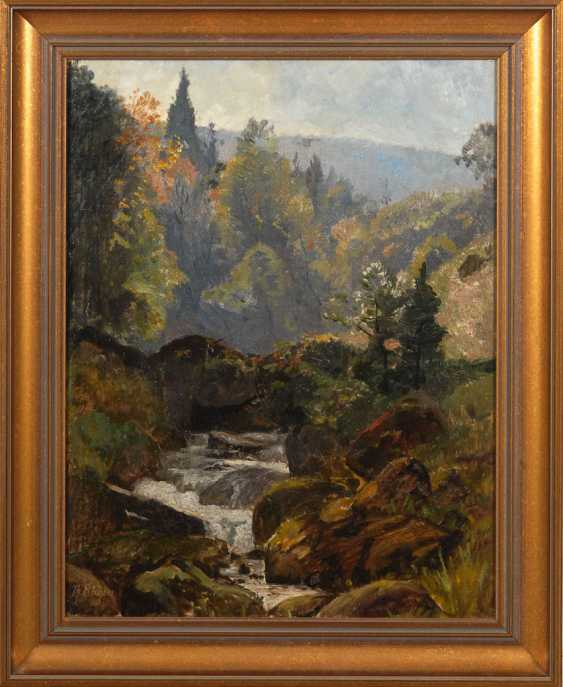 "HAGEN, Theodor: ""forest stream"". - photo 3"