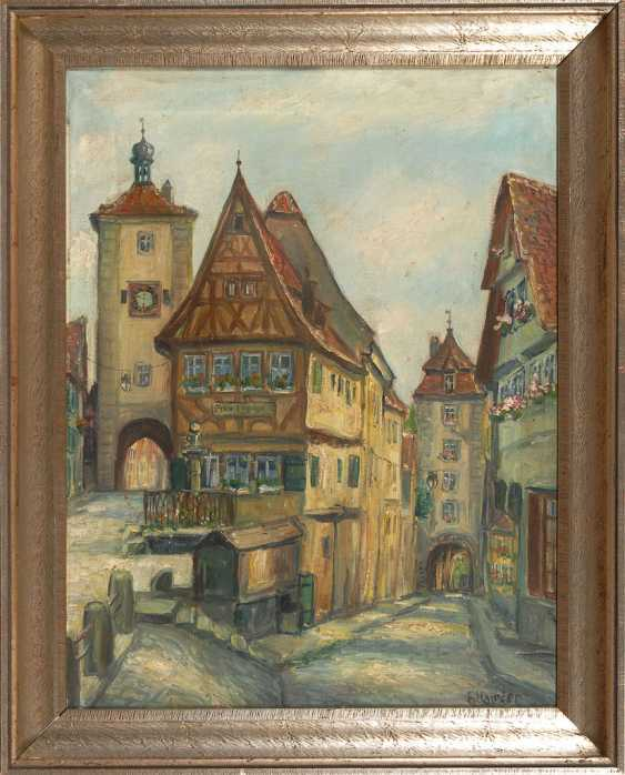 HAUSLER, Franz: a view of the City of Rothen - photo 2