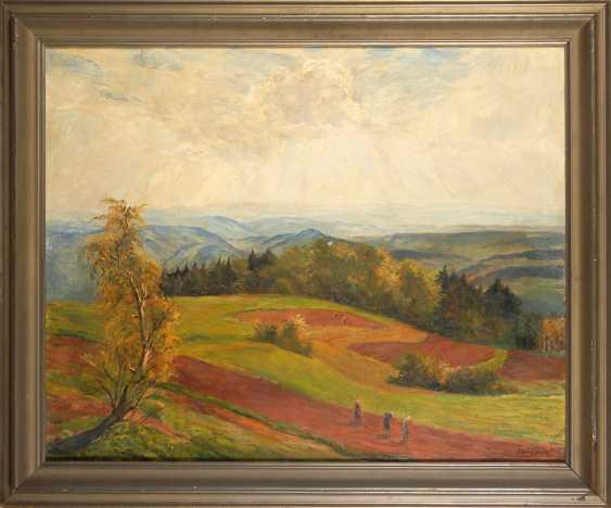 HEMPFING, Wilhelm: - Wide Autumn landscape - photo 2