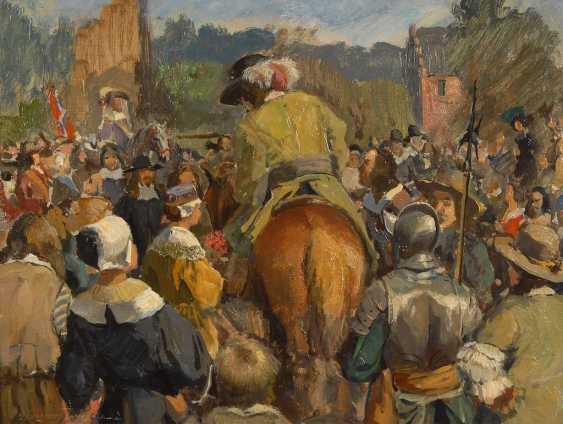 HORNUNG-JENSEN, Carl: Historical scene - photo 1