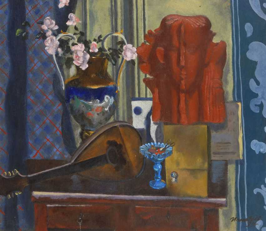 IGNATIEV: still life with blue Vase. - photo 1