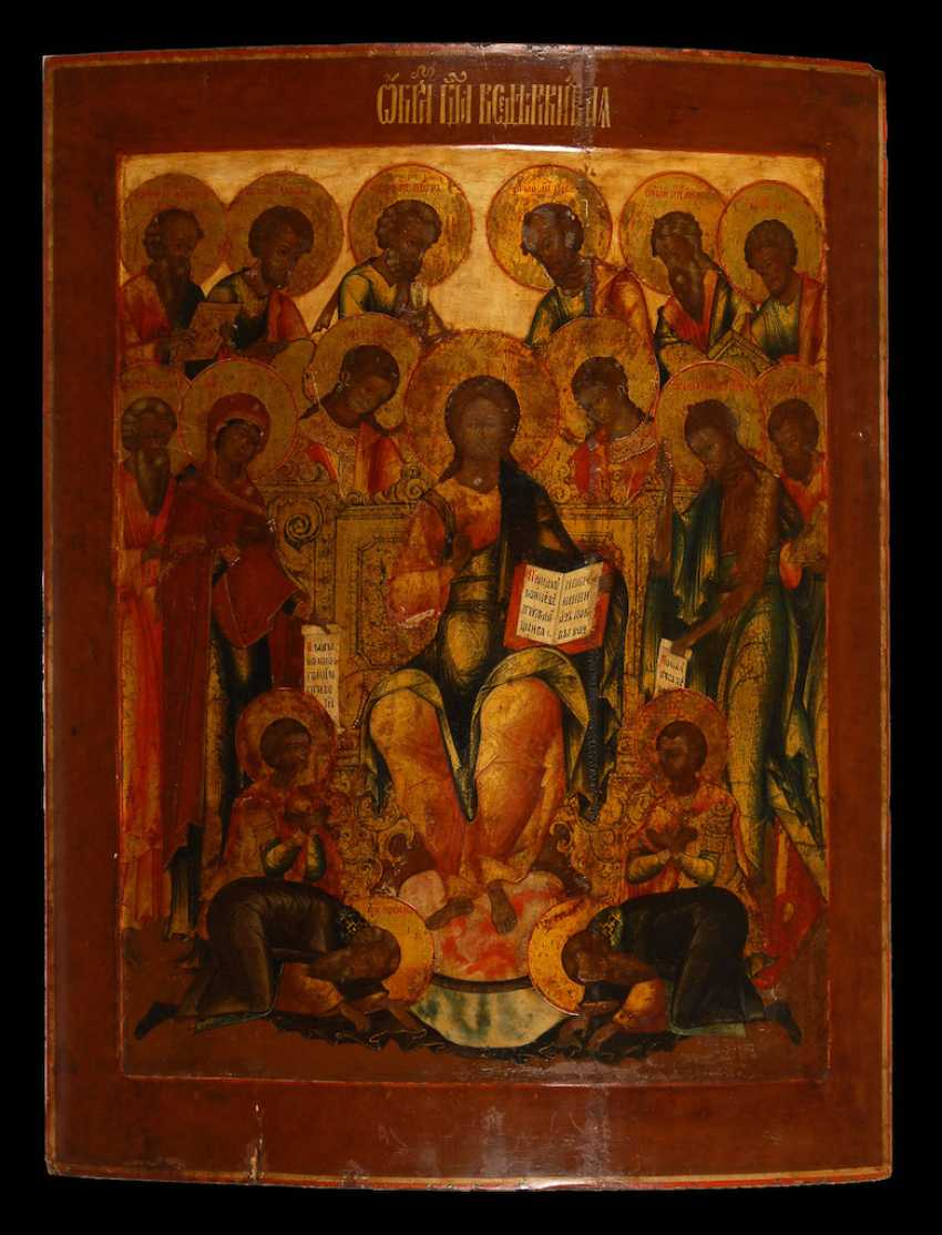"Great Icon, ""Extended Deesis"". - photo 1"