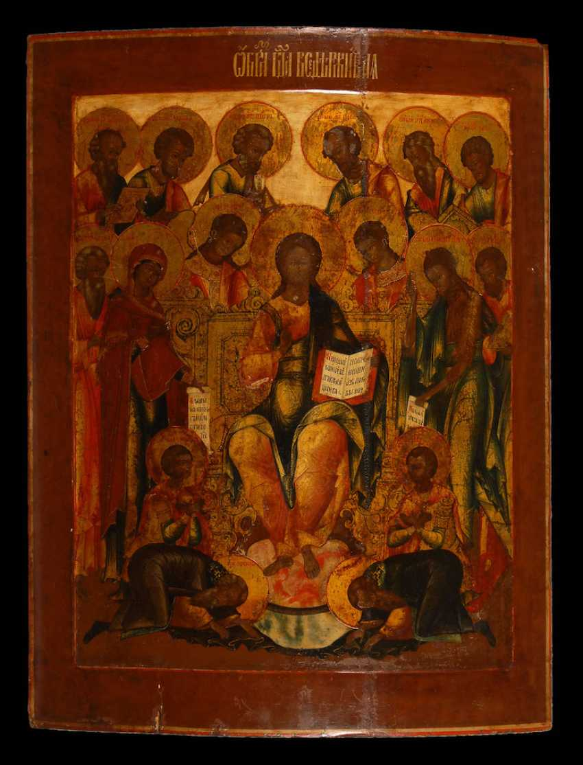 "Great Icon, ""Extended Deesis"". - photo 2"