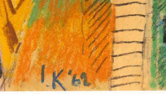 "KERKOVIUS, Ida: ""Two red towers"". - photo 4"