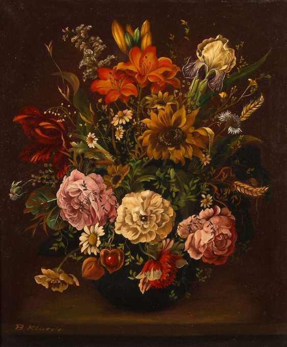 KLAEDE, Betty: still life with flowers in Altm - photo 1