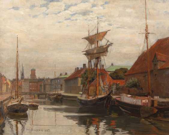 KONGSBAK, Albert: view of Copenhagen. - photo 1