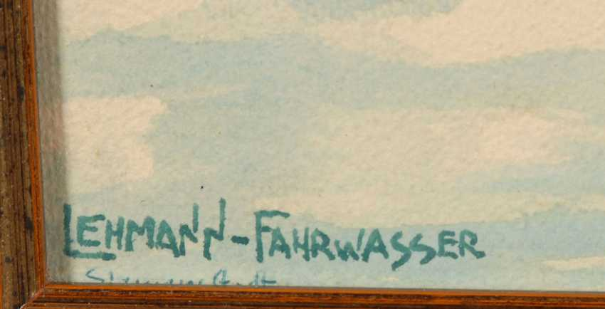 LEHMANN-FAIRWAY, Georg: Kurenkähne. - photo 3