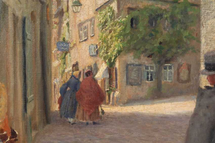 LUMNITZER, Paul: old town alley with Staf - photo 2