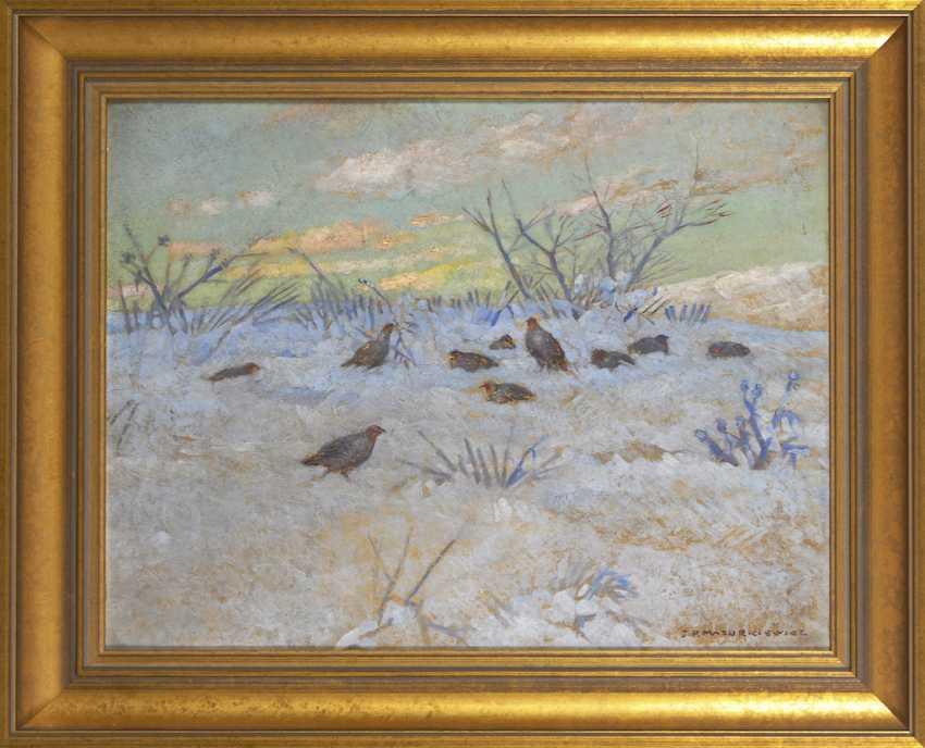 MAZURKIEWICZ, J. P.: partridges in the snow - photo 2