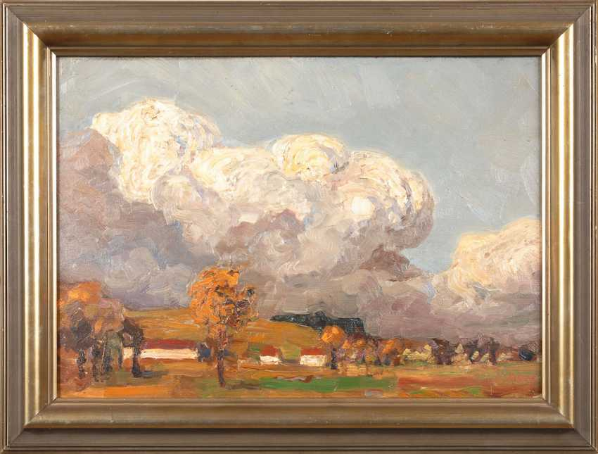 MERRE: landscape with clouds in the sky. - photo 2