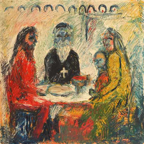 """The middle two, Holger: """"the last supper"""". - photo 1"""