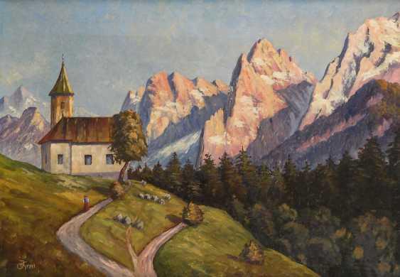 """Monogram mist """"JK"""": """"The Antonius chapel - photo 1"""
