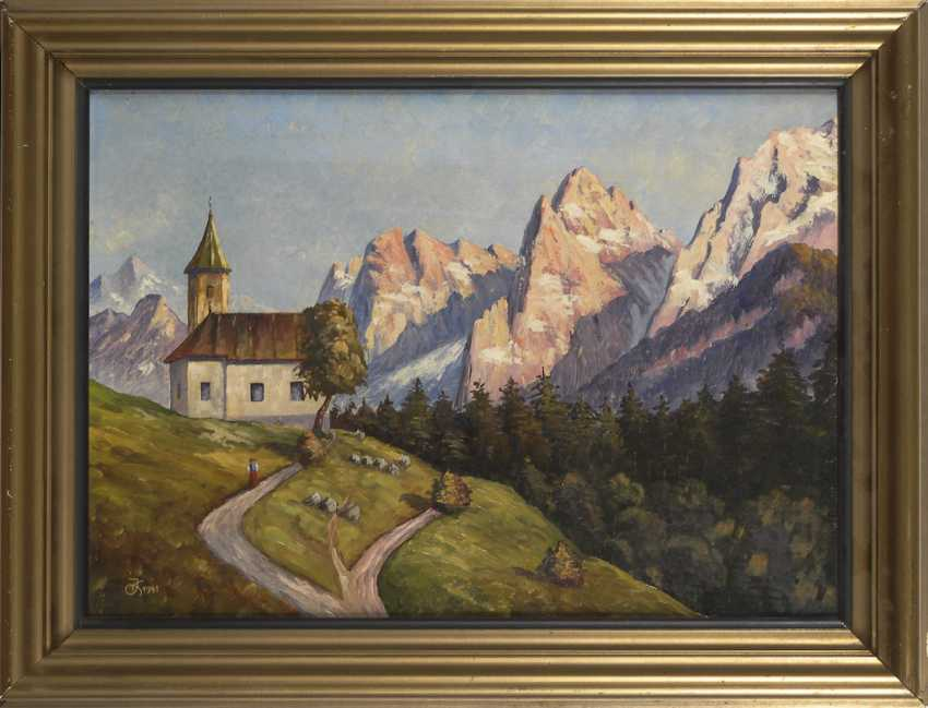 """Monogram mist """"JK"""": """"The Antonius chapel - photo 2"""
