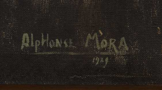 MORA, Alphonse: asters, and lupines. - photo 3