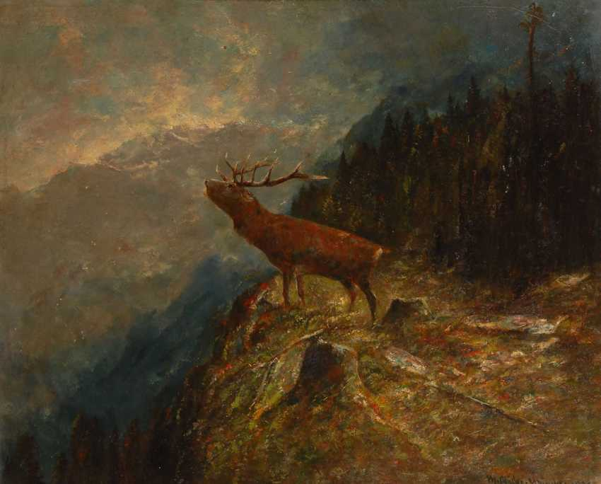 MÜLLER, Moritz this year: a roaring stag. - photo 1