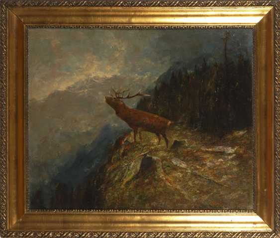 MÜLLER, Moritz this year: a roaring stag. - photo 2